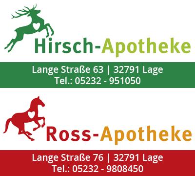 Hirsch und Ross Apotheke Lage