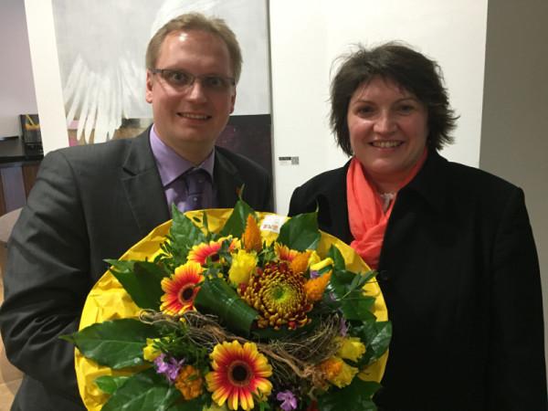 Ellen Stock ist neue Vize-Chefin des Landesparteirates. Sie beerbt Dennis Maelzer, der nach vier Jahren nicht erneut kandidierte