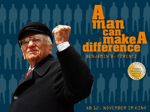 Am 12. November kommt ein sehenswerter Dokumentarfilm über den 95-jährigen Friedensanwalt Benjamin Ferencz in die Kinos. Seine Lebensaufgabe: die Gründung eines Internationalen Strafgerichtshofs.