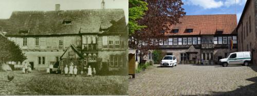Burghof-Gegenueberstellung