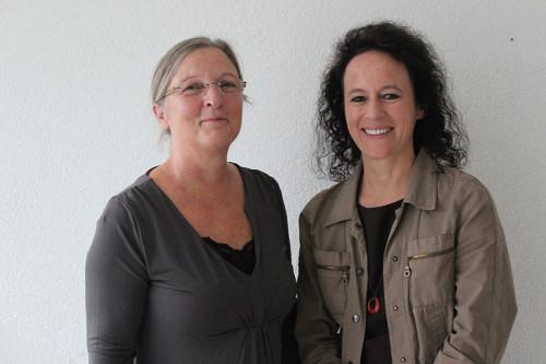 Engagieren sich für Adoptivfamilien: Heidemarie Dörr-Kramer (links) und Christina Meuter vom Regionalbüro Oerlinghausen des Kreises Lippe
