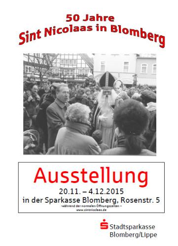 Plakat Sint Nicolaas