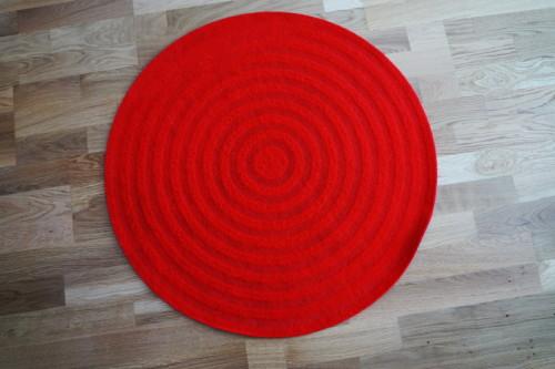 Runder Teppich