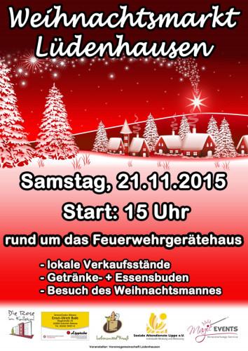 Weihnachtsmarkt Lüdenhausen