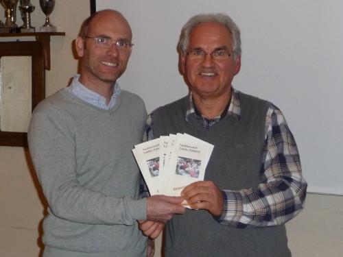 Bild von links: Markus Klußmeier, Wilfried Waibel