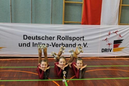 v.li. Alina Lehmeyer, Frauke Baldig und Lea Hilker
