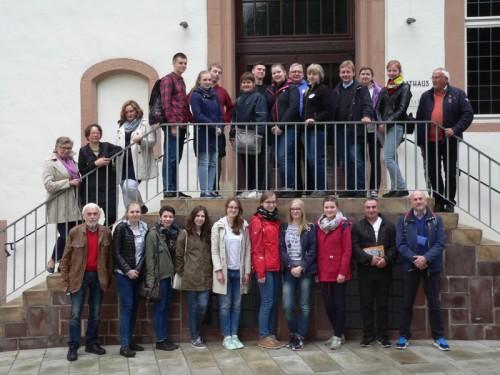 Foto: Die Gäste aus Polen zeigten sich sehr angetan von der Alten Hansestadt Lemgo.