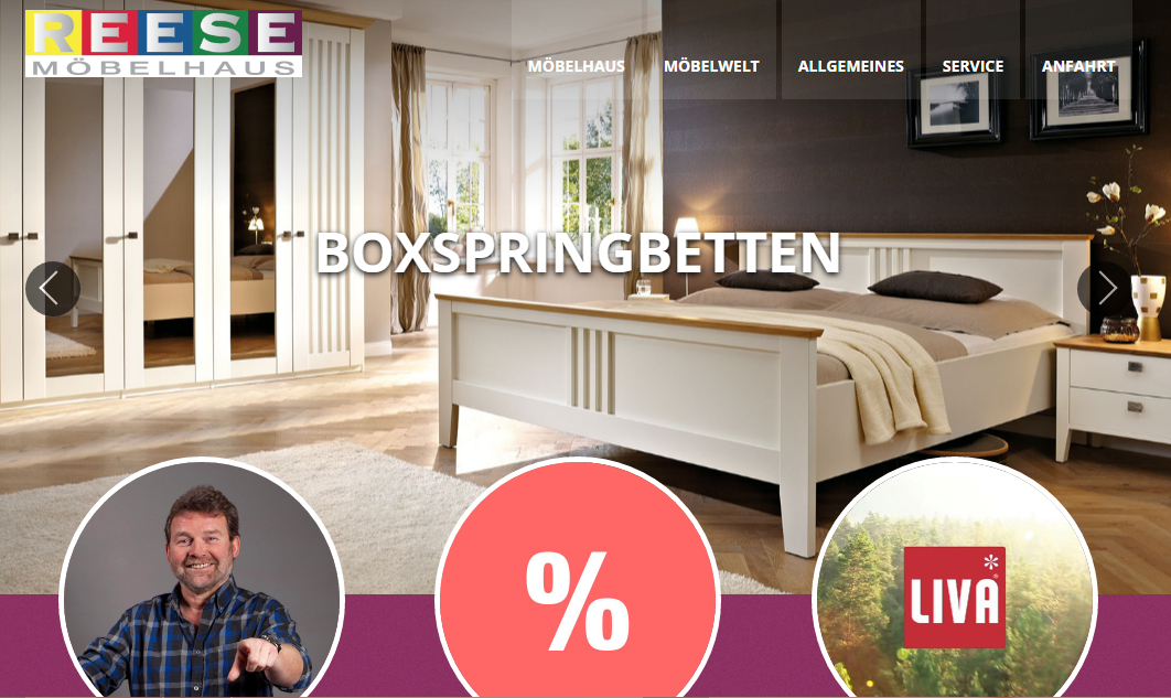 Möbelhaus Lemgo möbelhaus reese mit neuer website lippe