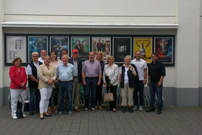 FDP-Fraktion mit Herrn Pannenbecker und Herr Strkic