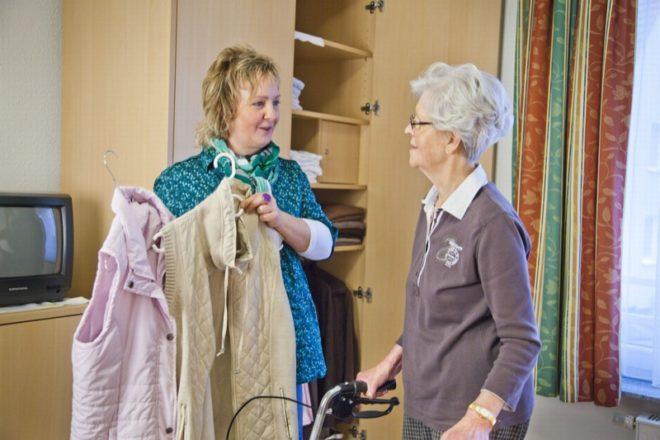 Die Bürgergutachter beschäftigten sich unter anderem mit dem Thema Wäscheversorgung in Altenheimen. Foto: Pia Blümig