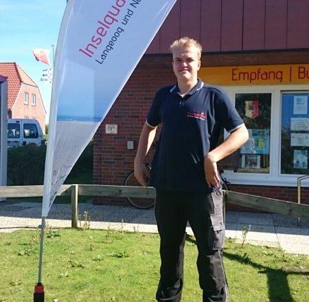 Viele Erfahrungen gesammelt: Jonas Schakow hat seine Bufdi-Zeit im Inselquartier des Kreises auf Norderney beendet.