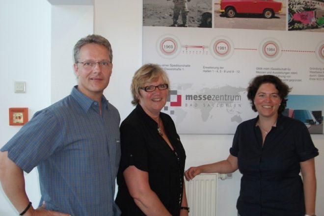 von links: Andreas Reibchen, Heike Görder, Kerstin Vieregge