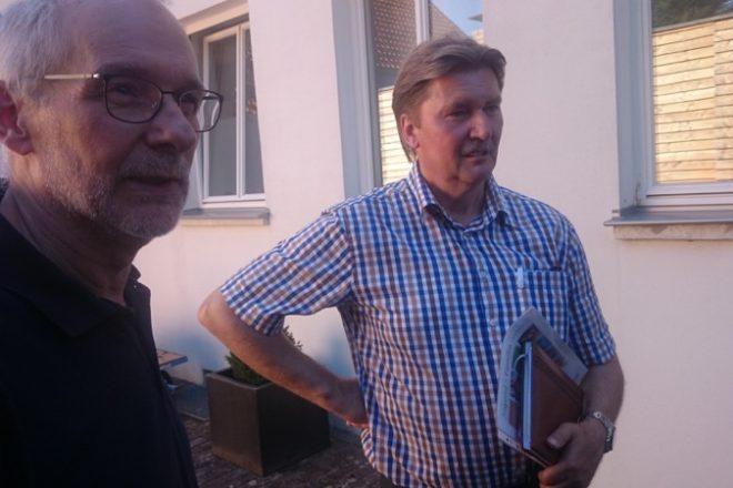 Peter Buchmann (AWO-OWL) und Jürgen Berghahn