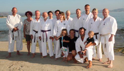 Teillnehmer aus dem Karate Dojo Bad Salzuflen