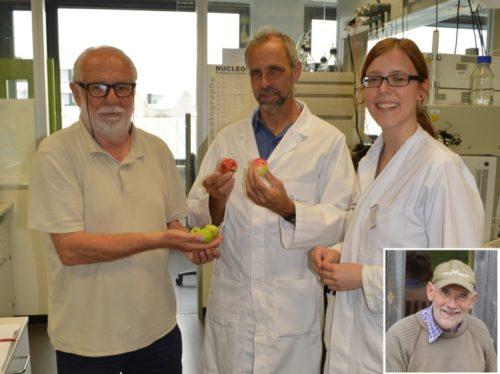 von links: Willi Hennebrüder BUND Lemgo - Professor Dr. Jürgen Zapp  und Kirsten Wittkötter (Studentin) Hochschule OWL - Meinolf Hammerschmidt