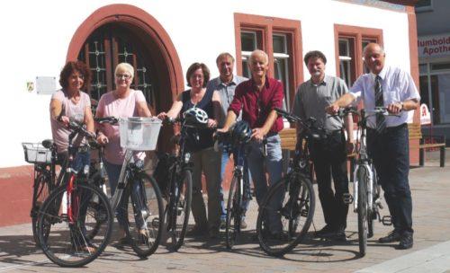 """Das Team der Stadtverwaltung Blomberg hat bei der Aktion """"Mit dem Rad zur Arbeit"""" kräftig in die Pedale getreten und dabei in den letzten Monaten 3.885 Kilometer zurückgelegt."""