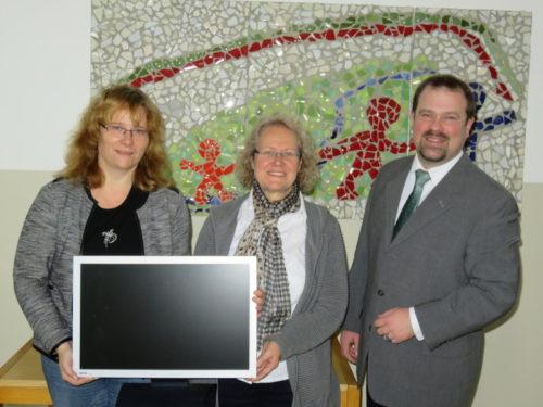 v.l.n.r: Susann Sprick, Silvia Genat, Martin Becker