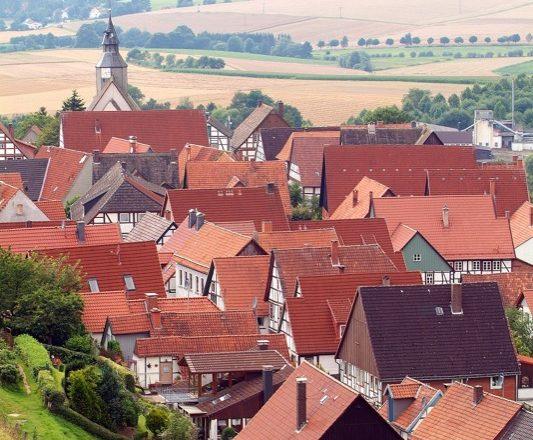 Blick auf die Malerstadt Schwalenberg. Foto: D. Sondermann