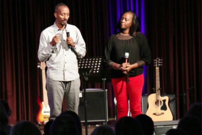 Jean und Christine Hajabakiga berichten von Ihrer Arbeit in Ruanda