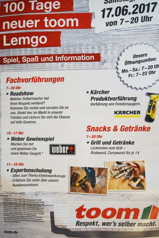 100 Tage neuer toom Lemgo | Lippe News