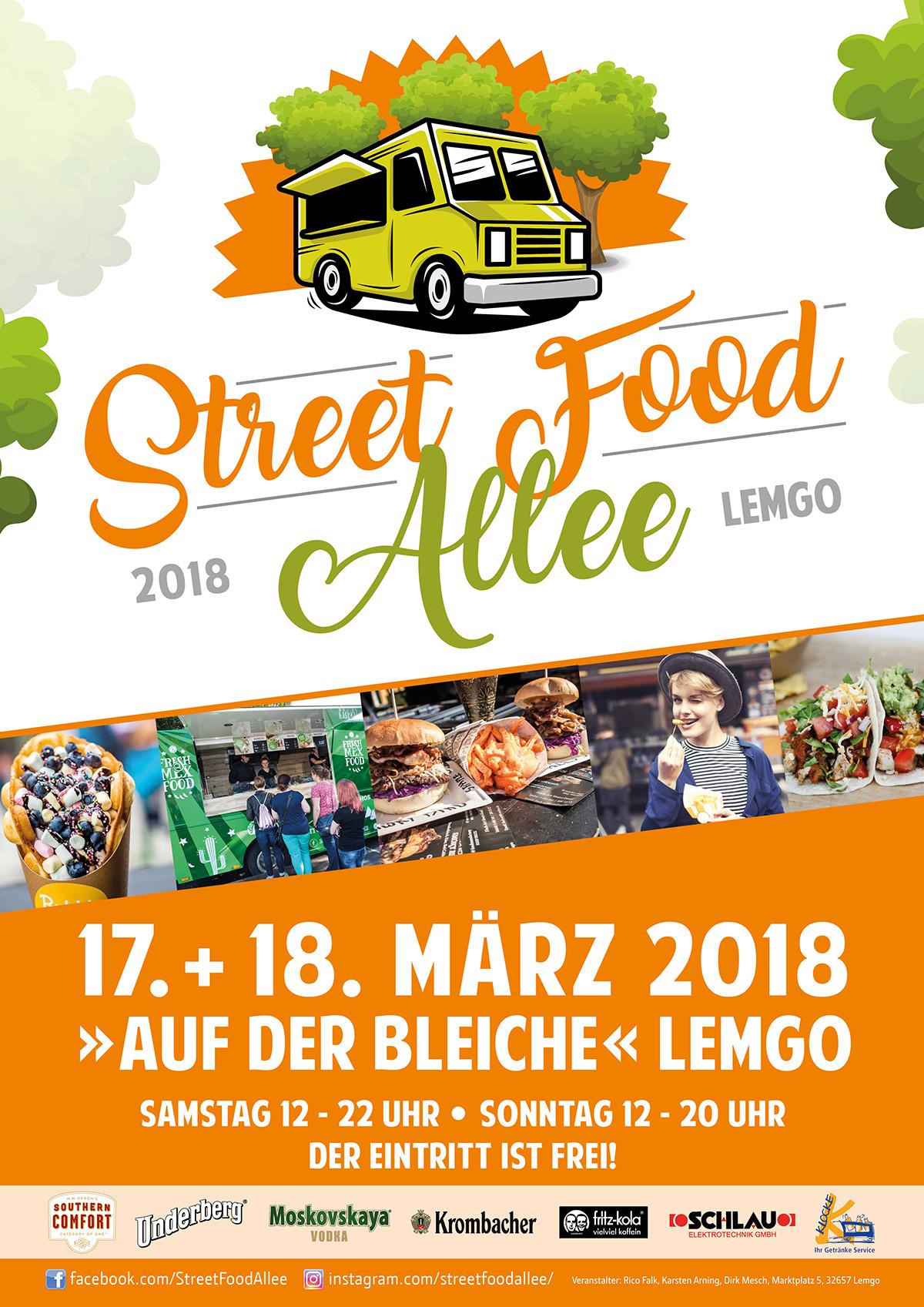 Street Food Allee Entert Erneut Die Bleiche Lippe News