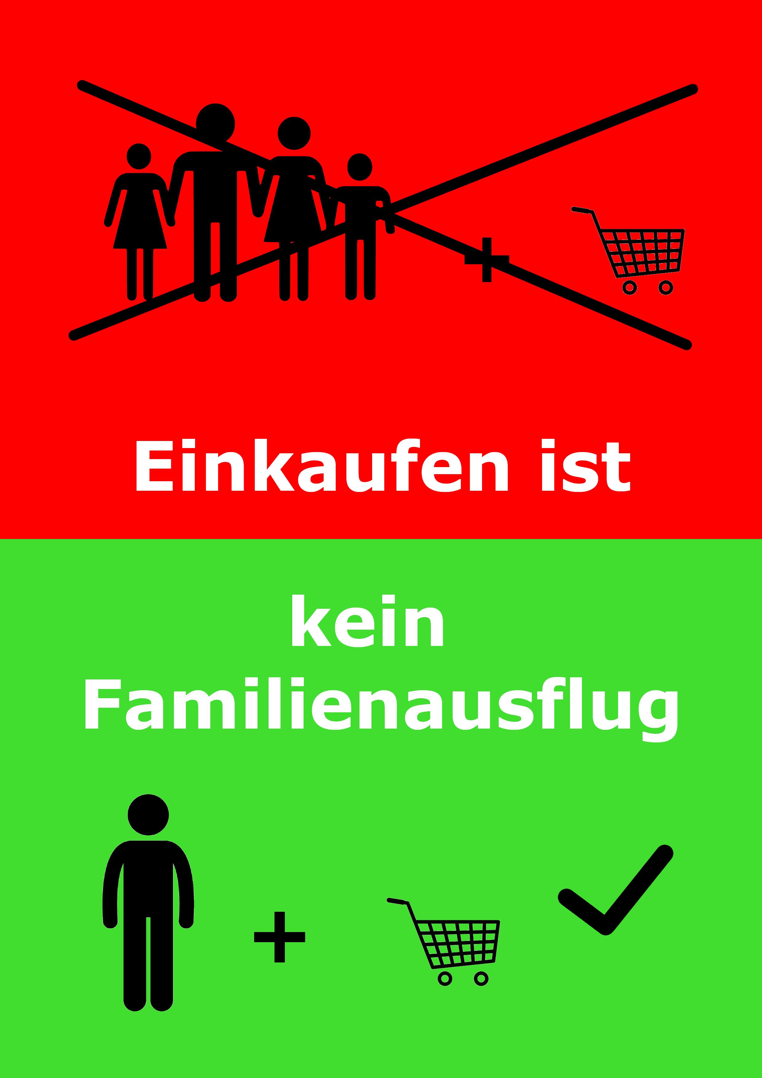 Einkaufen Ist Kein Familienausflug